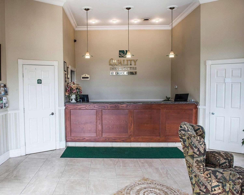 Lobby - Quality Inn & Suites 1000 Islands Gananoque