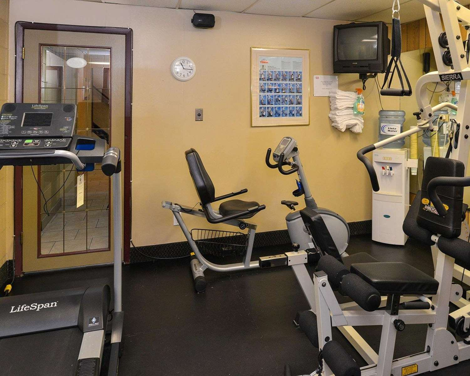 Fitness/ Exercise Room - Econo Lodge Village Calgary