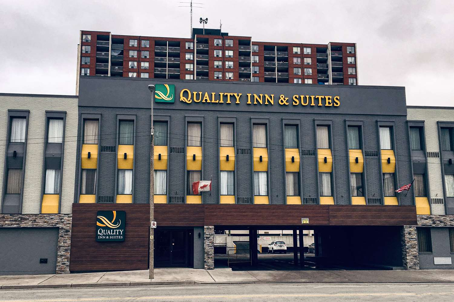 Exterior view - Quality Inn & Suites Downtown Windsor