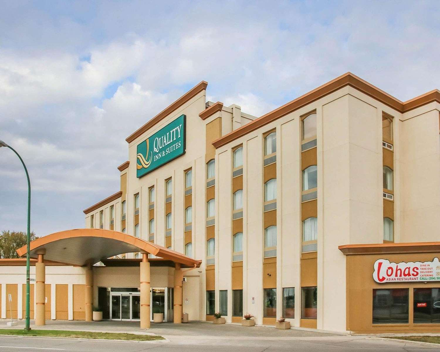 Exterior view - Quality Inn Winnipeg