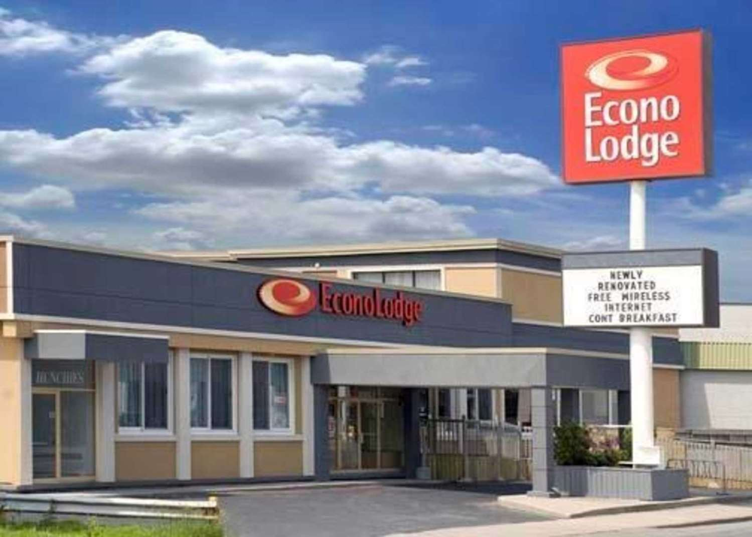 Exterior view - Econo Lodge City Centre Kingston