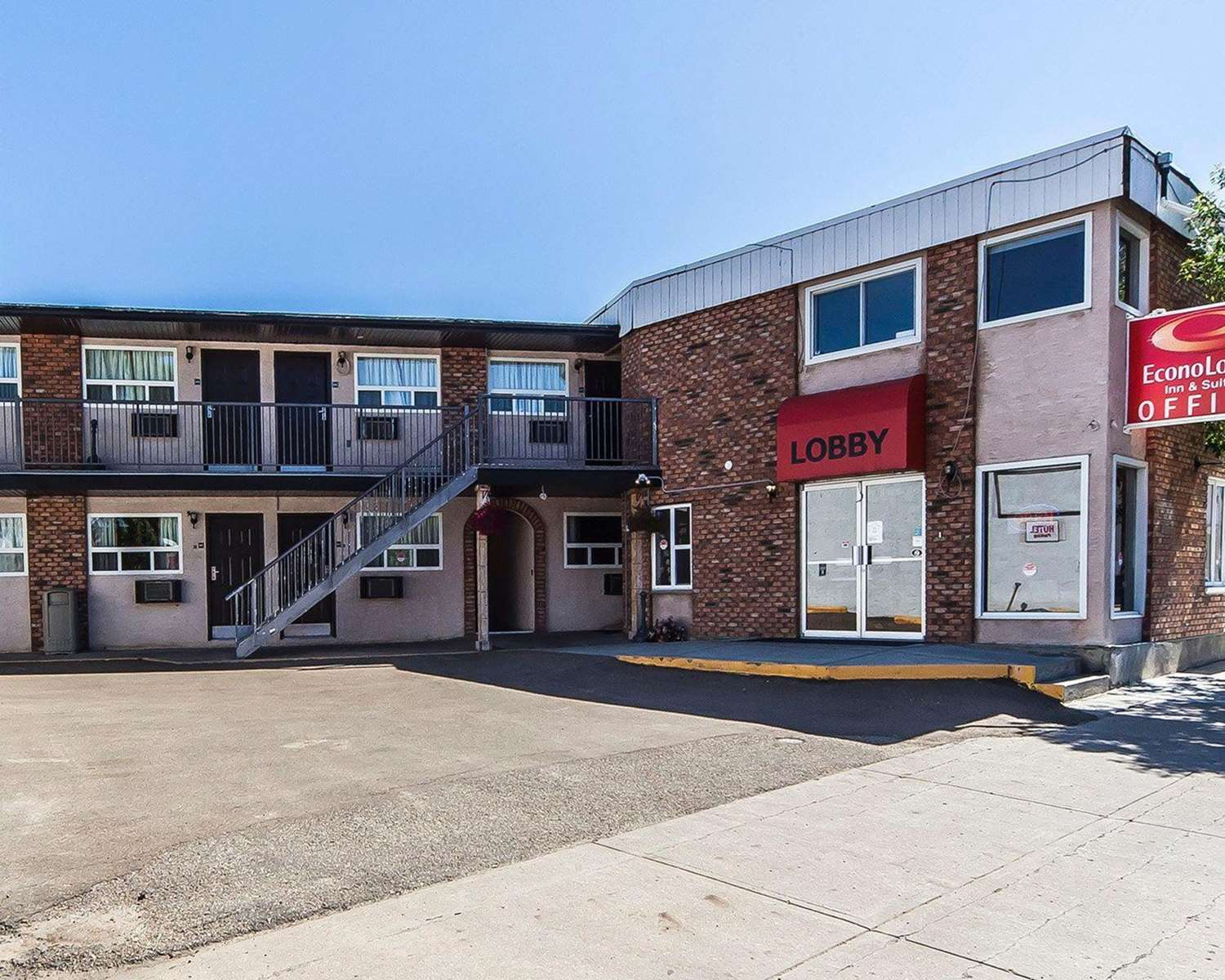 Exterior view - Econo Lodge Inn & Suites Drumheller