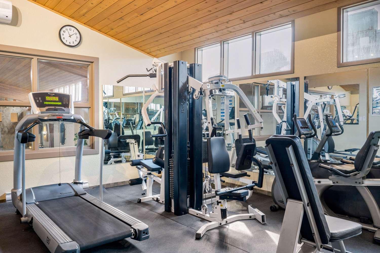 Fitness/ Exercise Room - Quality Inn Winkler