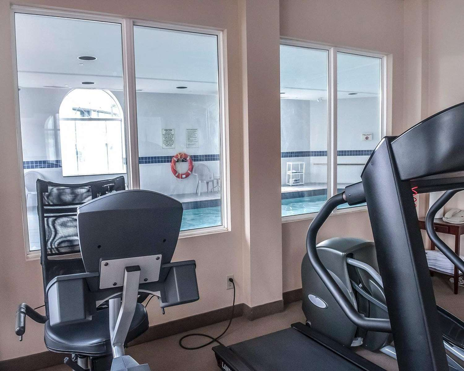 Fitness/ Exercise Room - Comfort Inn North Mississauga