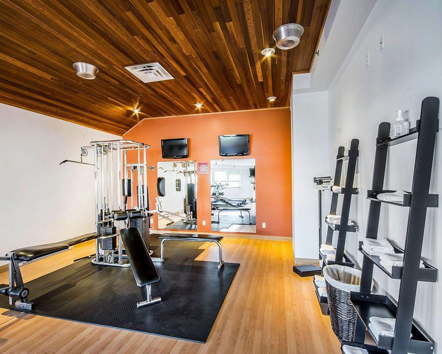 Fitness/ Exercise Room - Comfort Inn & Suites Conference Centre Victoria
