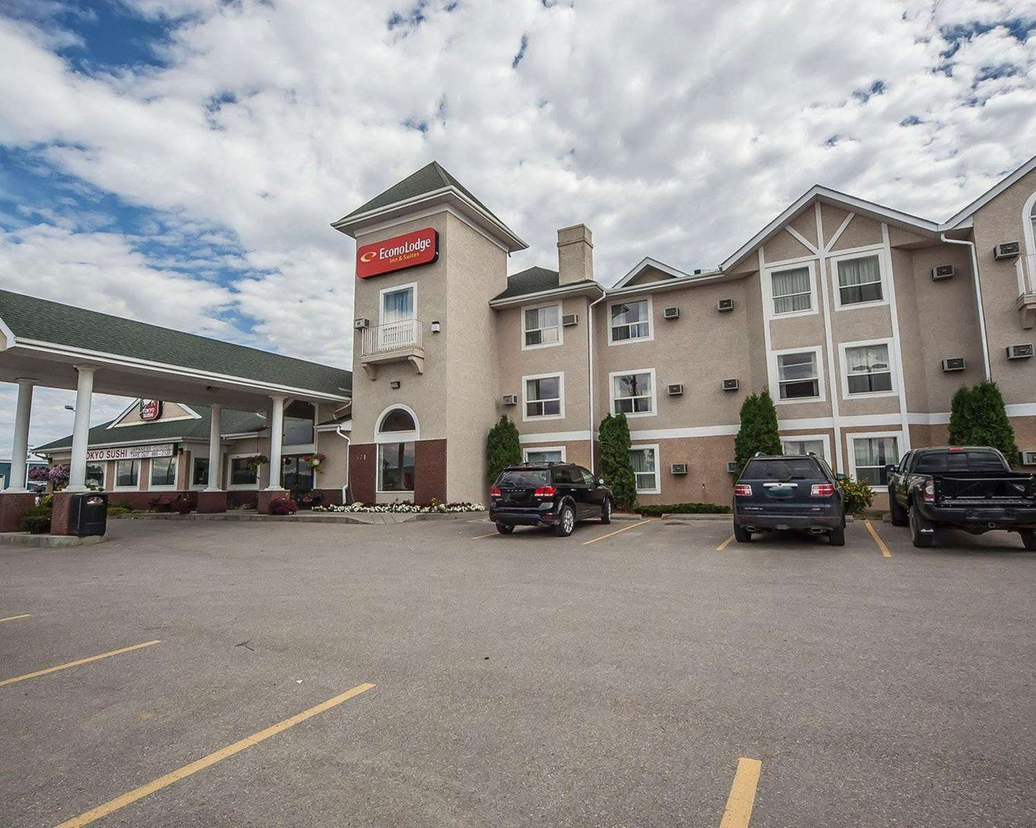 Exterior view - Econo Lodge & Suites Hinton