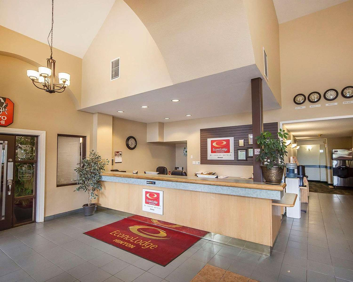 Lobby - Econo Lodge & Suites Hinton