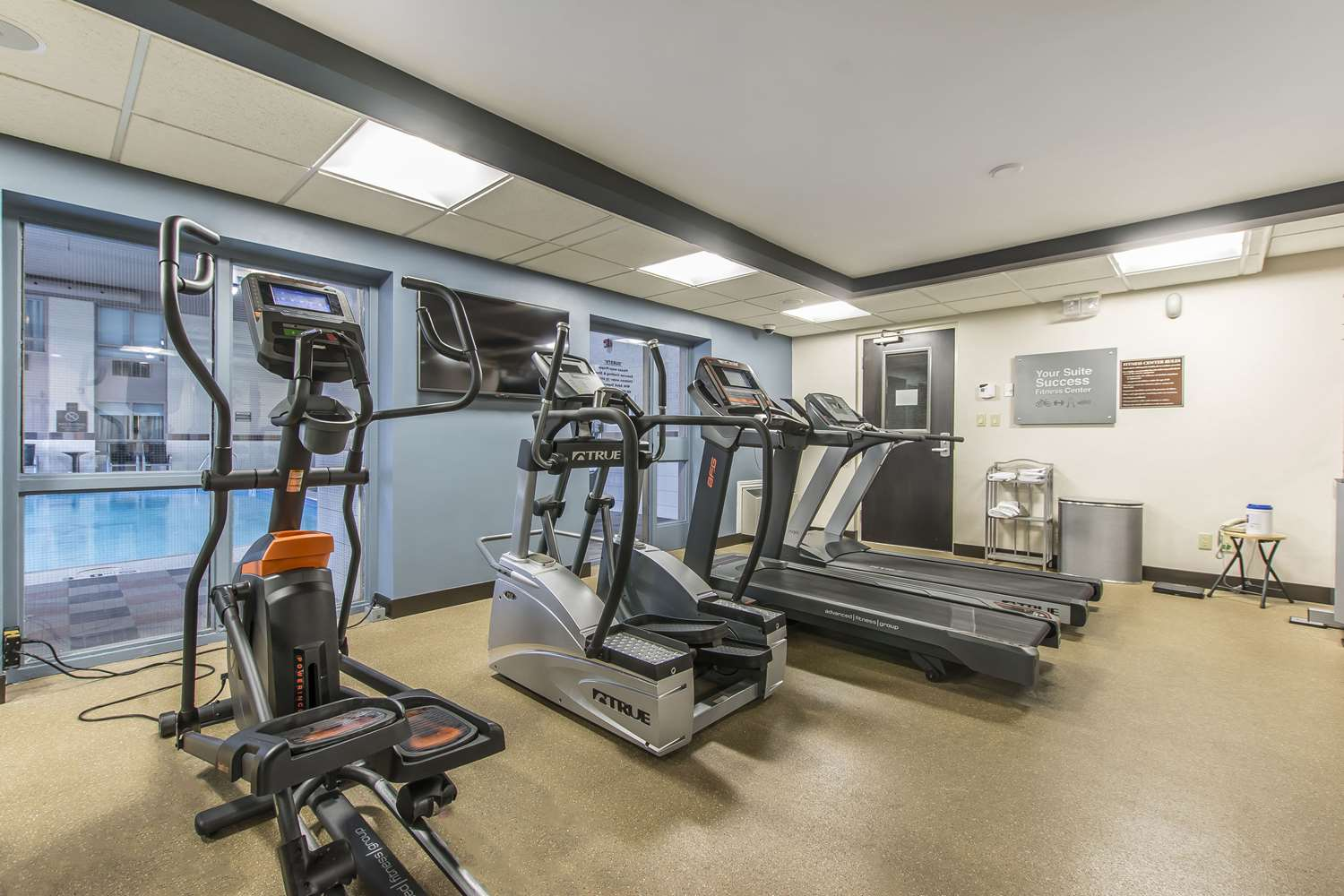 Fitness/ Exercise Room - Quattro Hotel & Conference Centre Sault Ste Marie