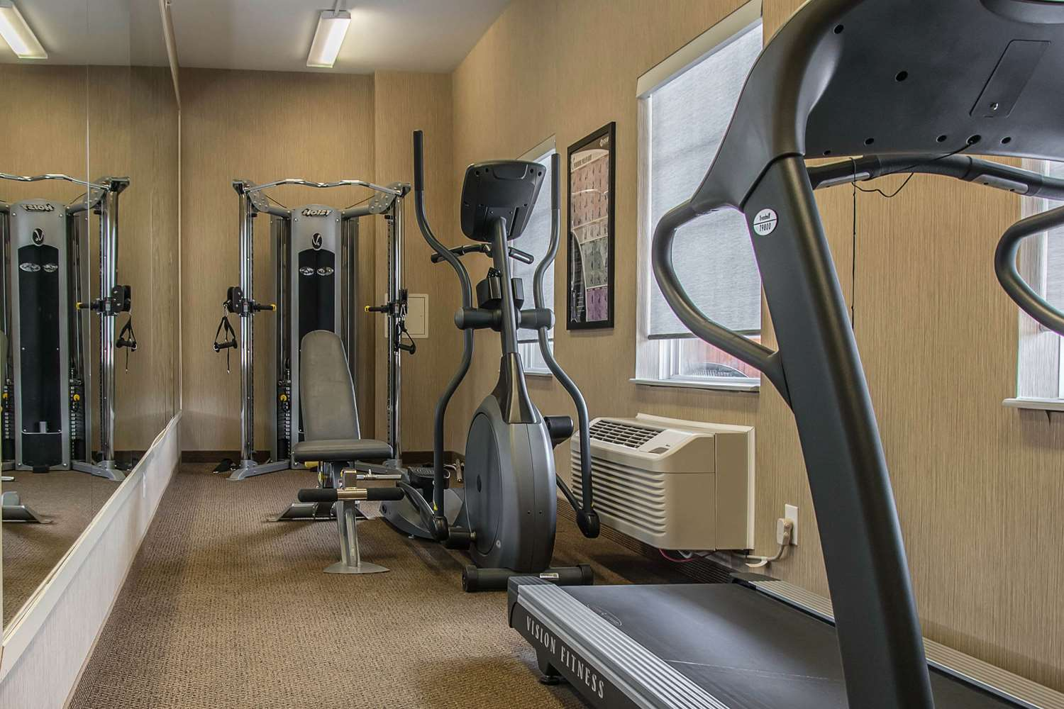 Fitness/ Exercise Room - MainStay Suites Winnipeg
