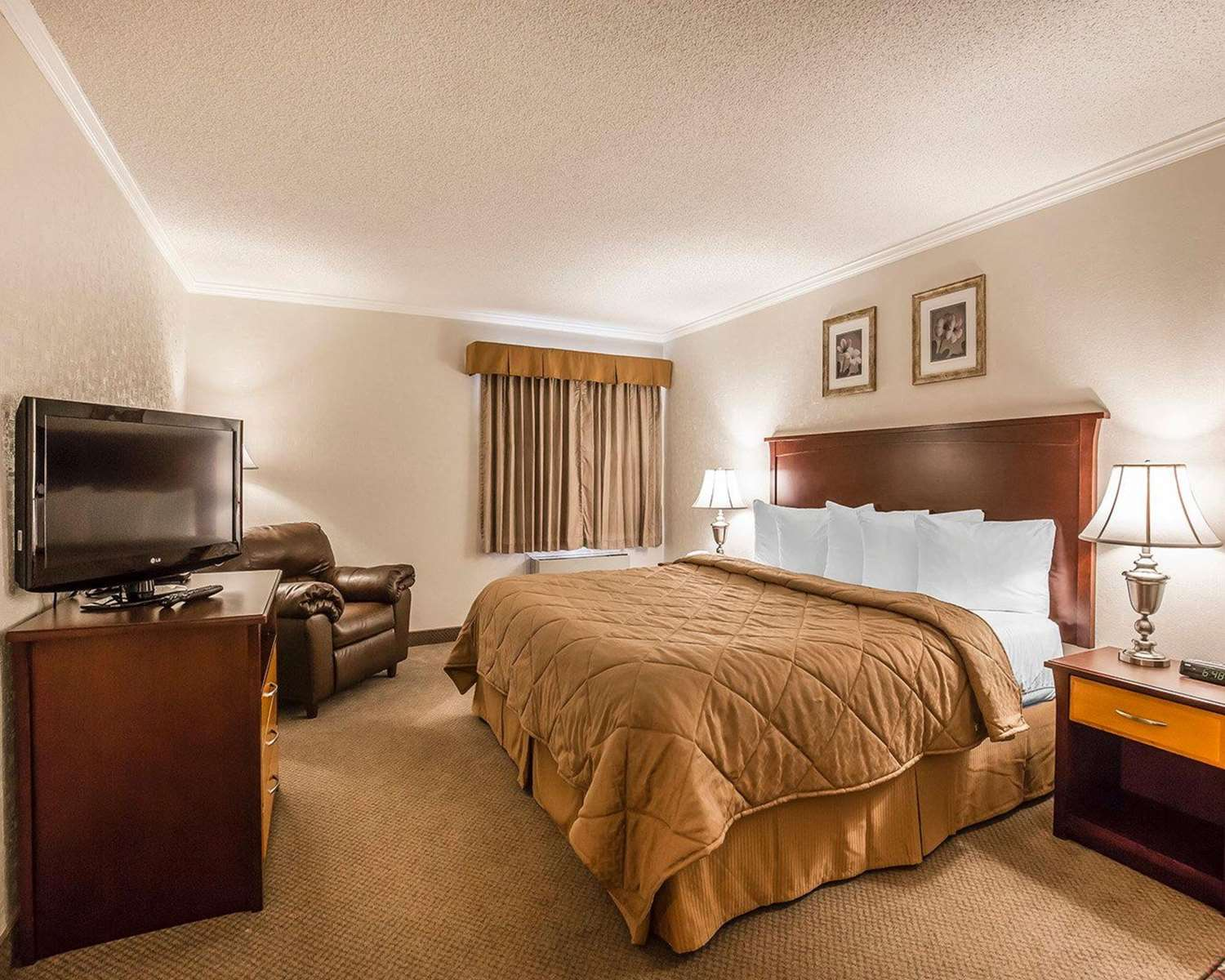 Room - Quality Inn North Hill Red Deer