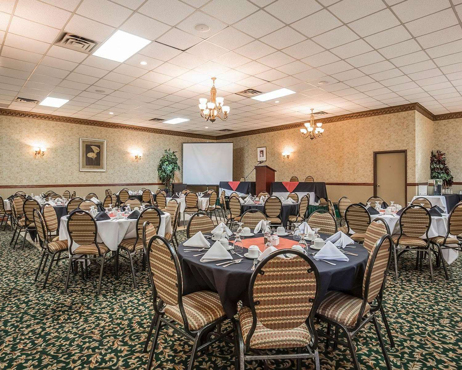 Meeting Facilities - Quality Inn North Hill Red Deer