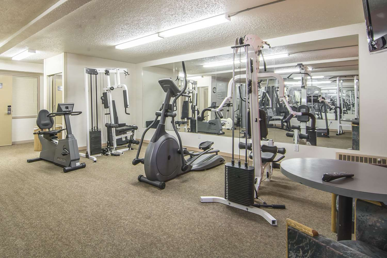 Fitness/ Exercise Room - Quality Inn & Suites High Level