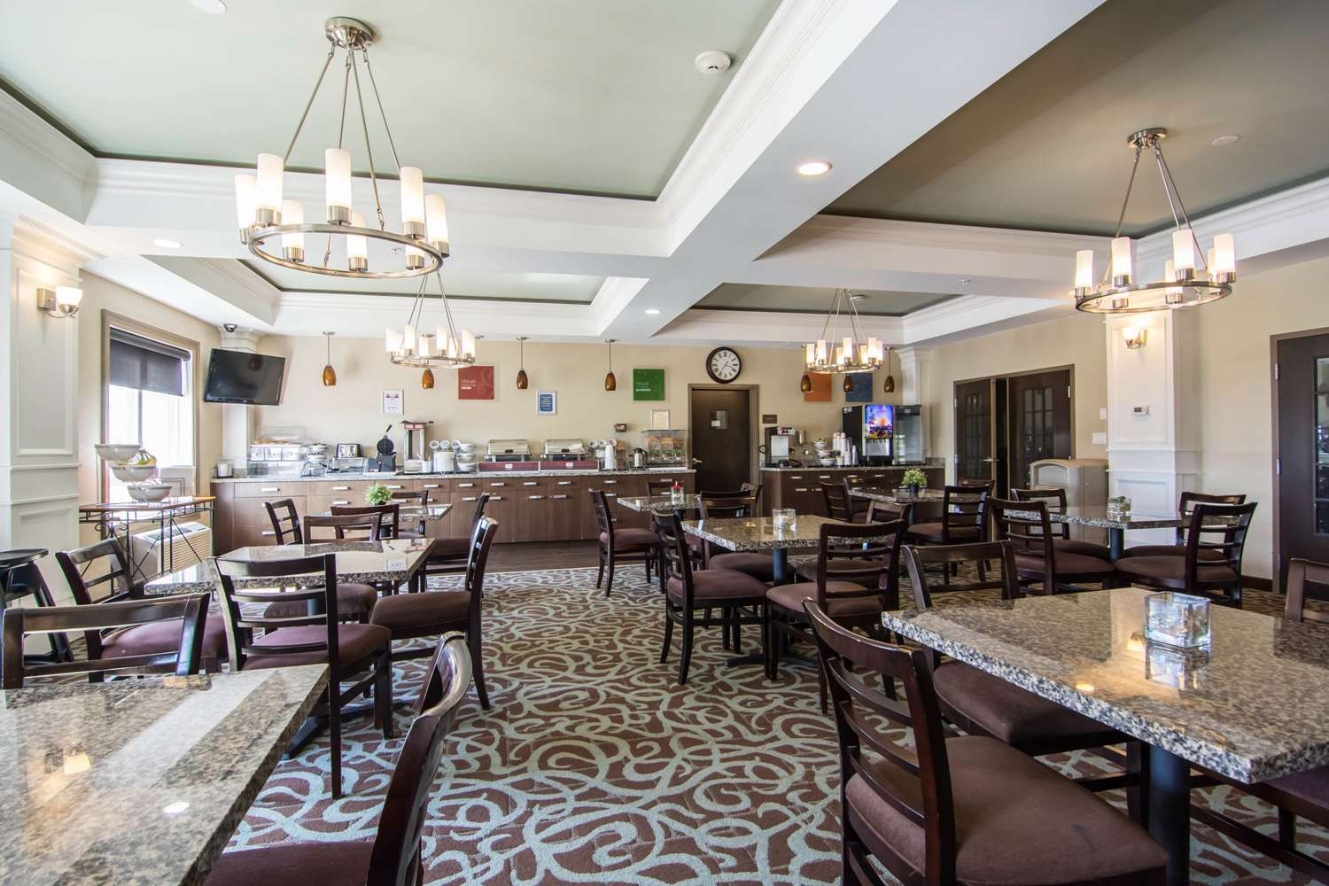 Restaurant - Comfort Inn & Suites Fort Saskatchewan