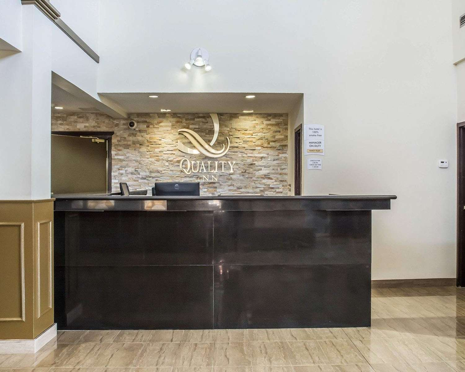 Lobby - Quality Inn Barrie