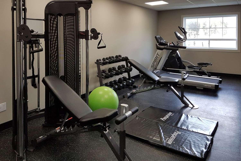 Fitness/ Exercise Room - Comfort Inn & Suites Terrace