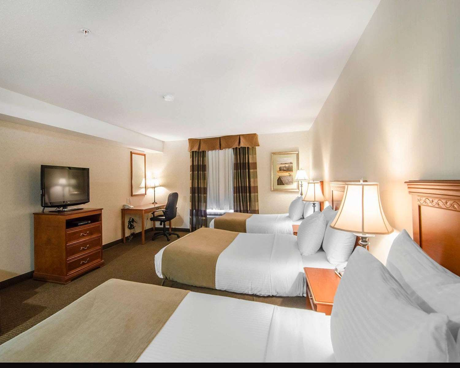 Room - Quality Inn & Suites Grande Prairie