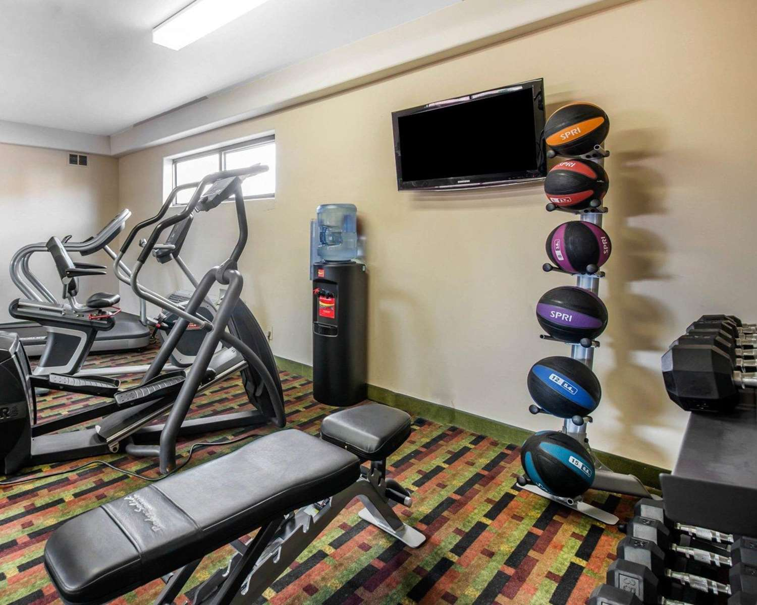 Fitness/ Exercise Room - Quality Inn Airport Colorado Springs