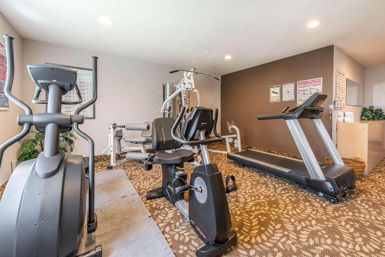 Fitness/ Exercise Room - Quality Inn Burlington