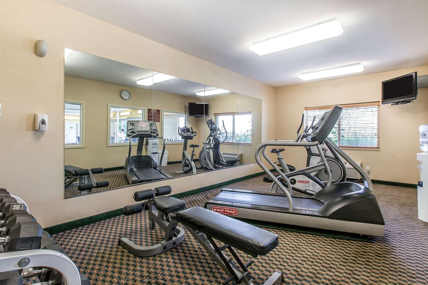 Fitness/ Exercise Room - Quality Inn & Suites Loveland