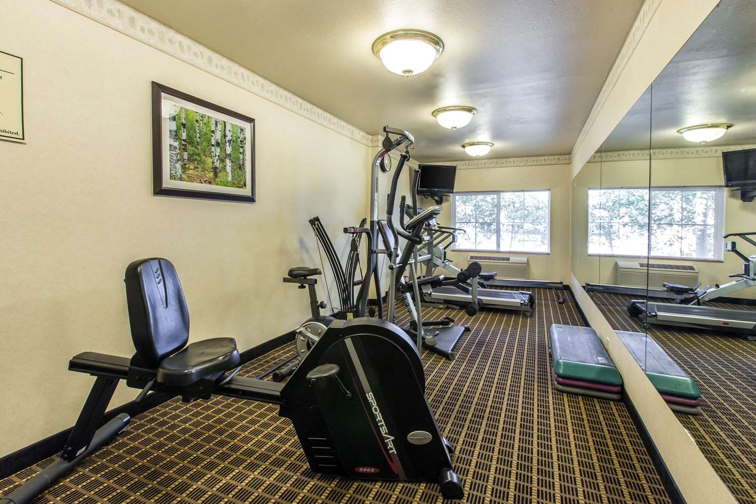 Fitness/ Exercise Room - Quality Inn & Suites Silverthorne