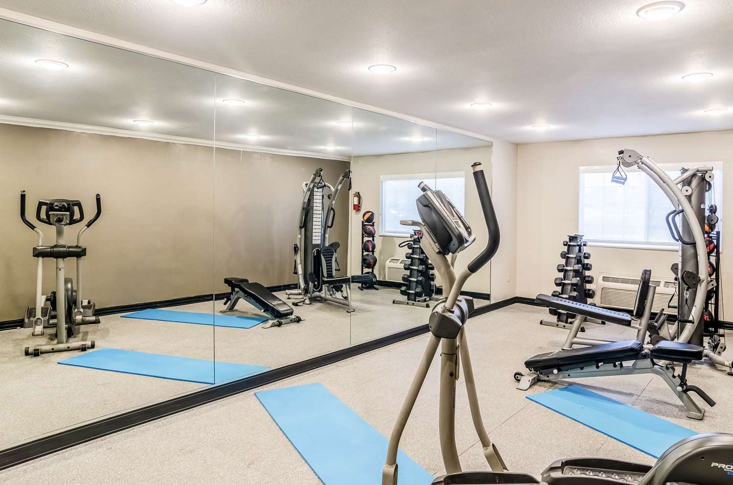 Fitness/ Exercise Room - Quality Inn & Suites Apex Center Westminster