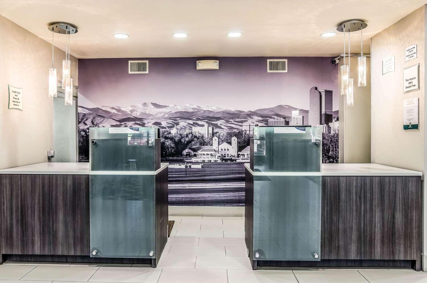 Lobby - Quality Inn & Suites Apex Center Westminster