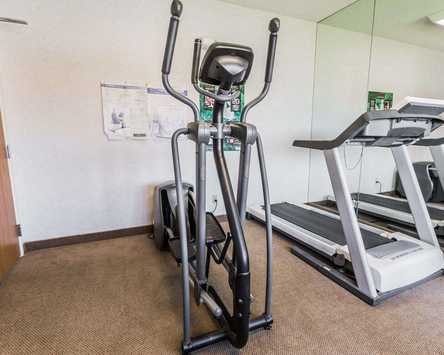 Fitness/ Exercise Room - Quality Inn & Suites Montrose