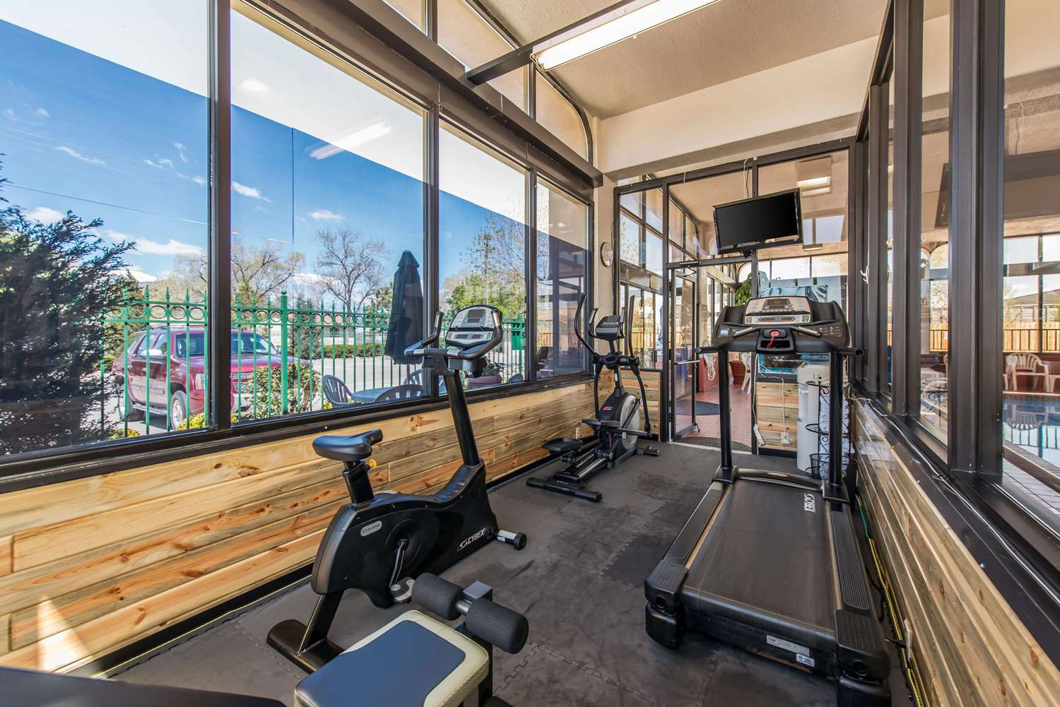 Fitness/ Exercise Room - Quality Inn South Colorado Springs South