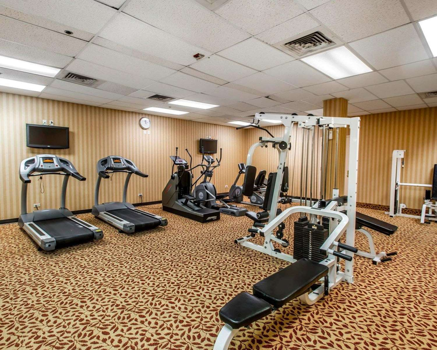 Fitness/ Exercise Room - Clarion Hotel & Conference Center Greeley