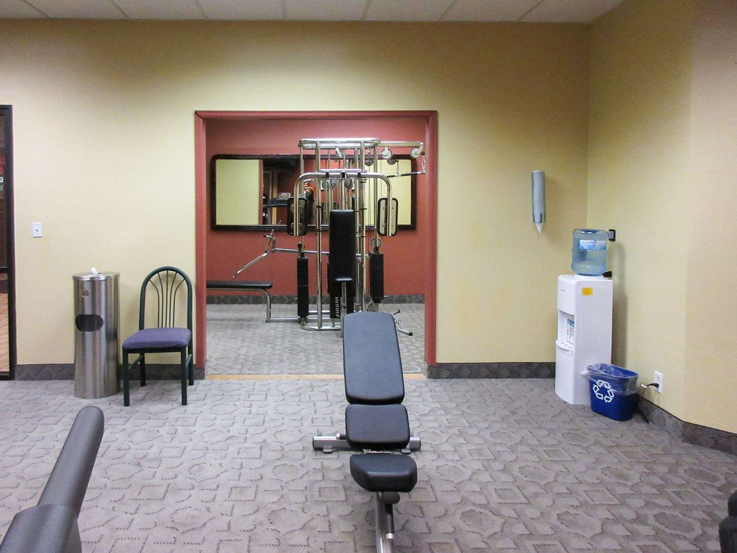 Fitness/ Exercise Room - Clarion Inn Fort Collins