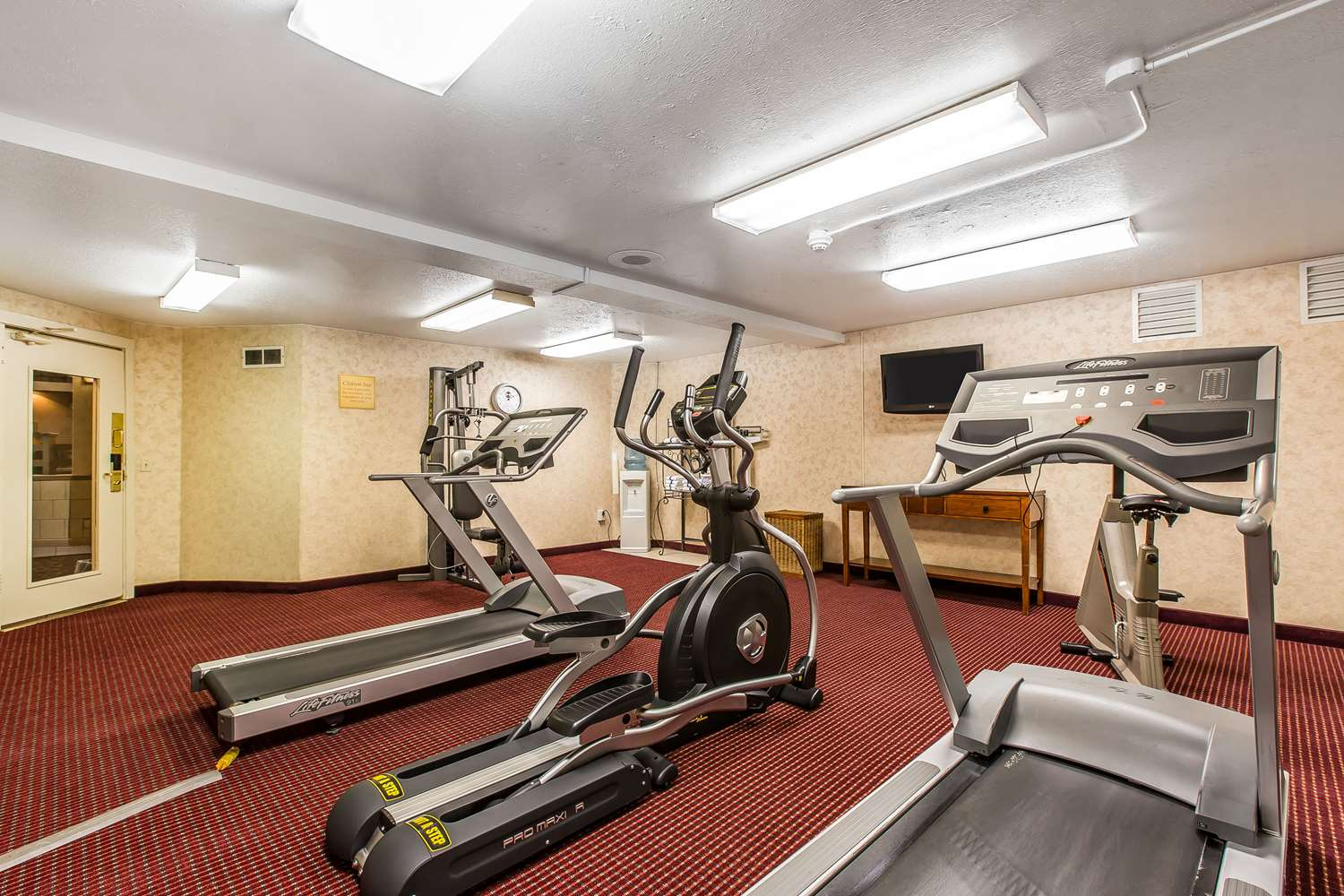 Fitness/ Exercise Room - Quality Inn & Suites Craig