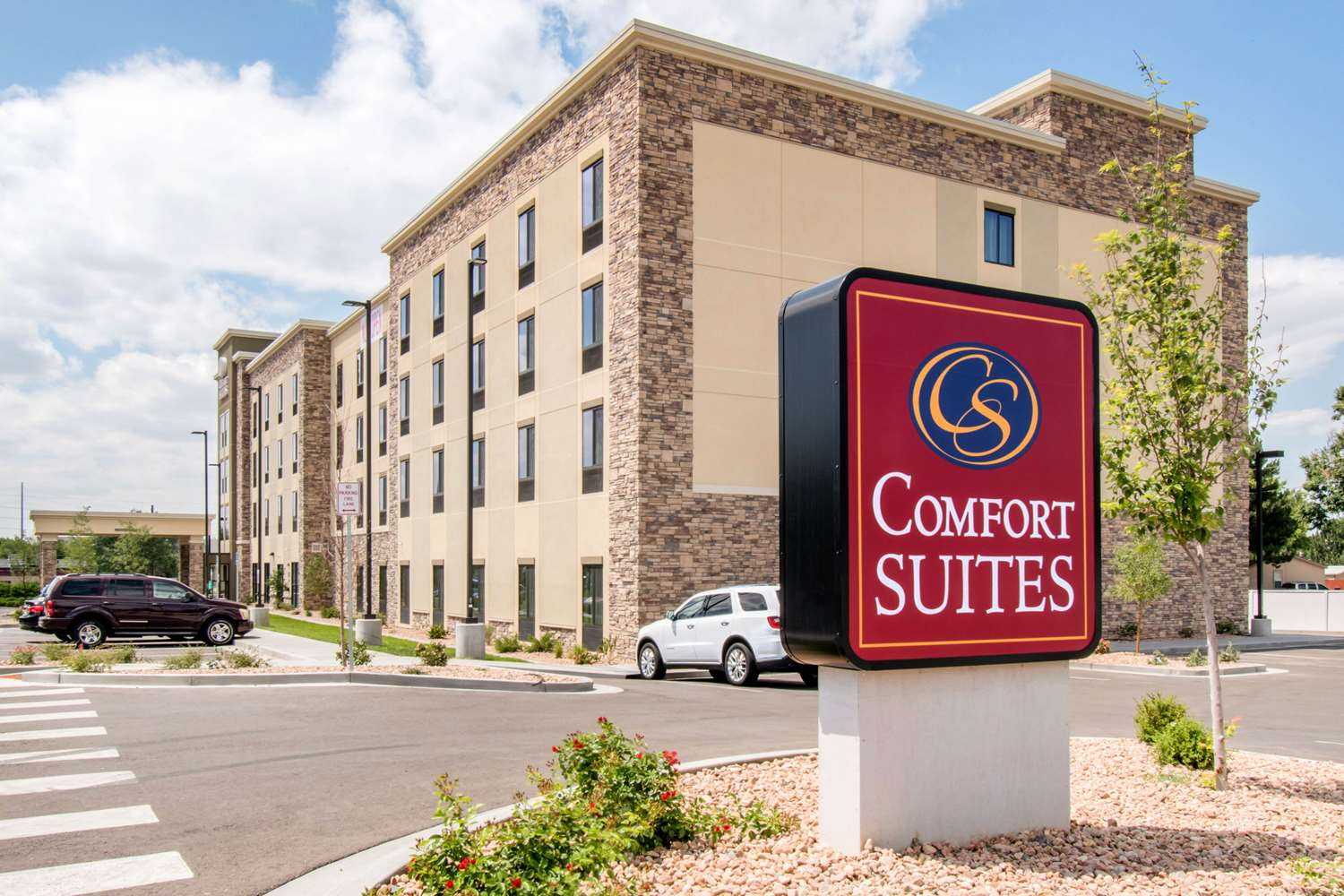 Exterior view - Comfort Suites Buckley AFB Aurora