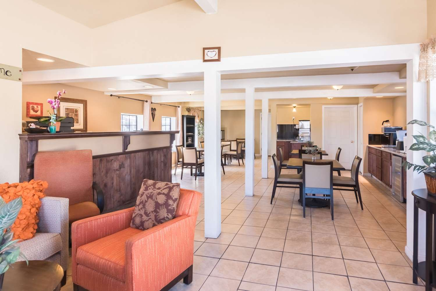 Lobby - Rodeway Inn Montrose