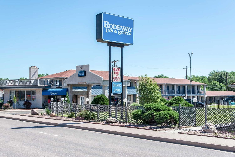Exterior view - Rodeway Inn & Suites Colorado Springs