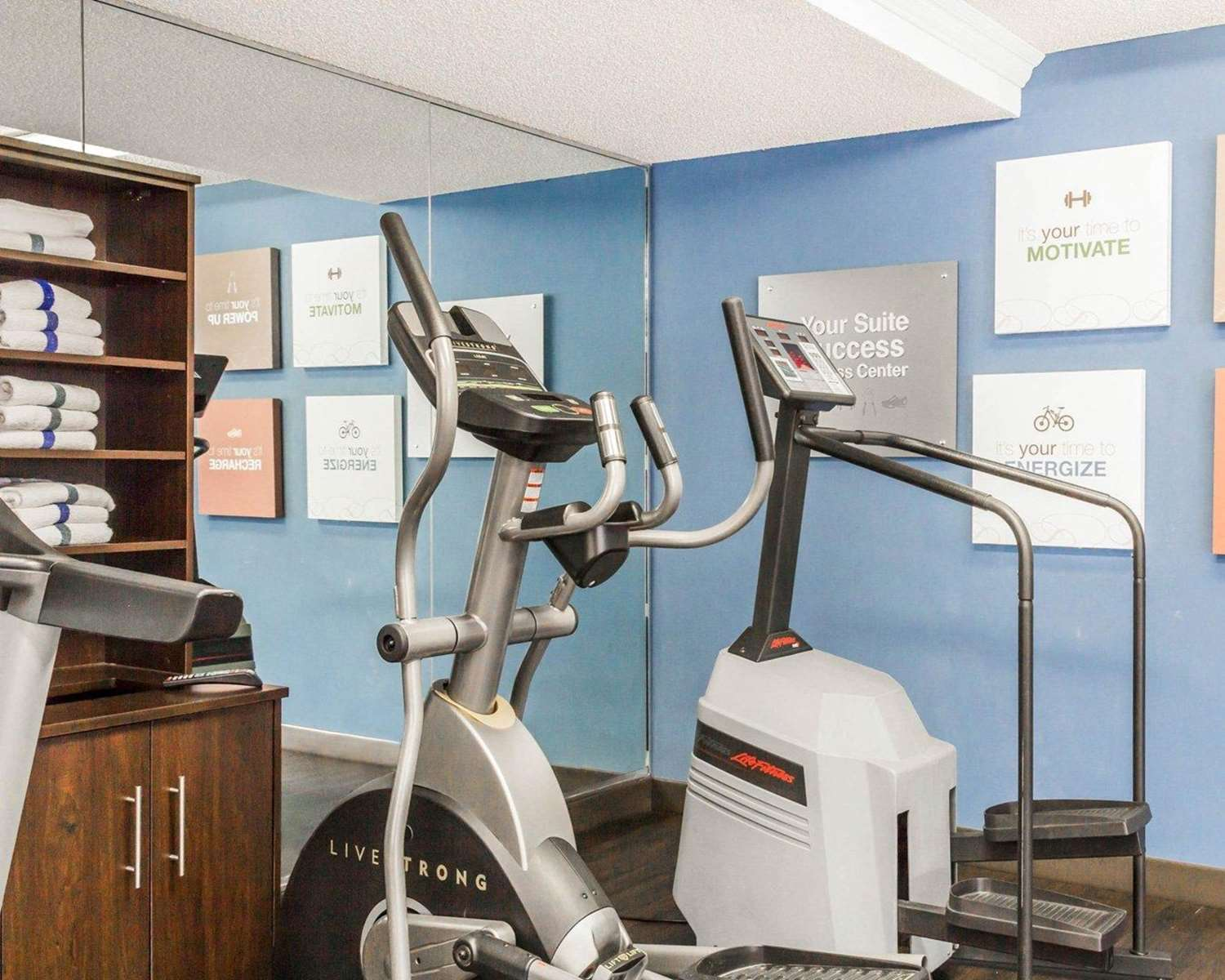 Fitness/ Exercise Room - Quality Inn & Suites Westminster