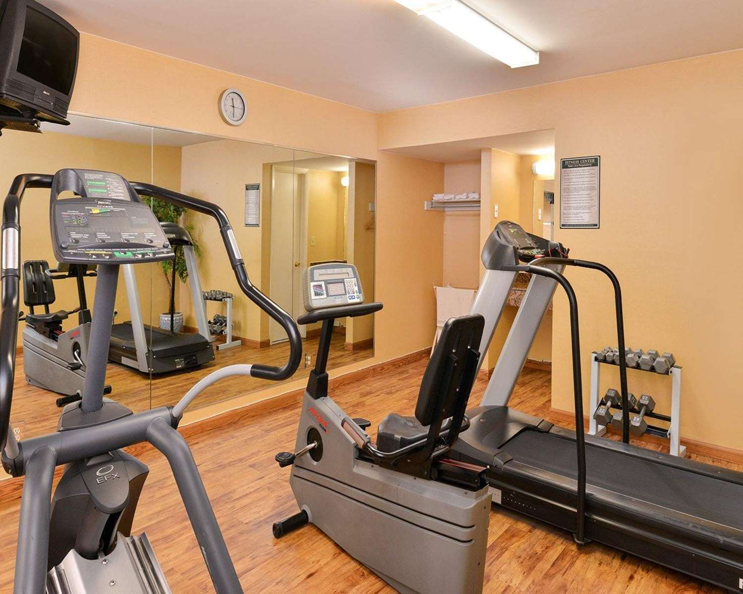 Fitness/ Exercise Room - Quality Inn East Haven