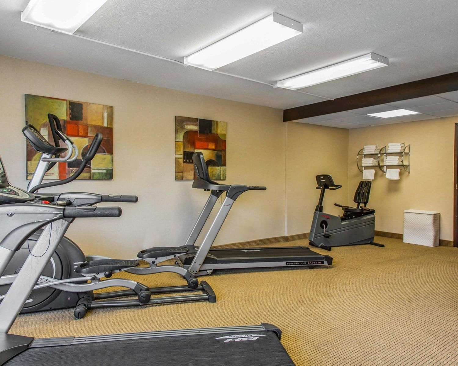 Fitness/ Exercise Room - Rodeway Inn & Suites East Windsor