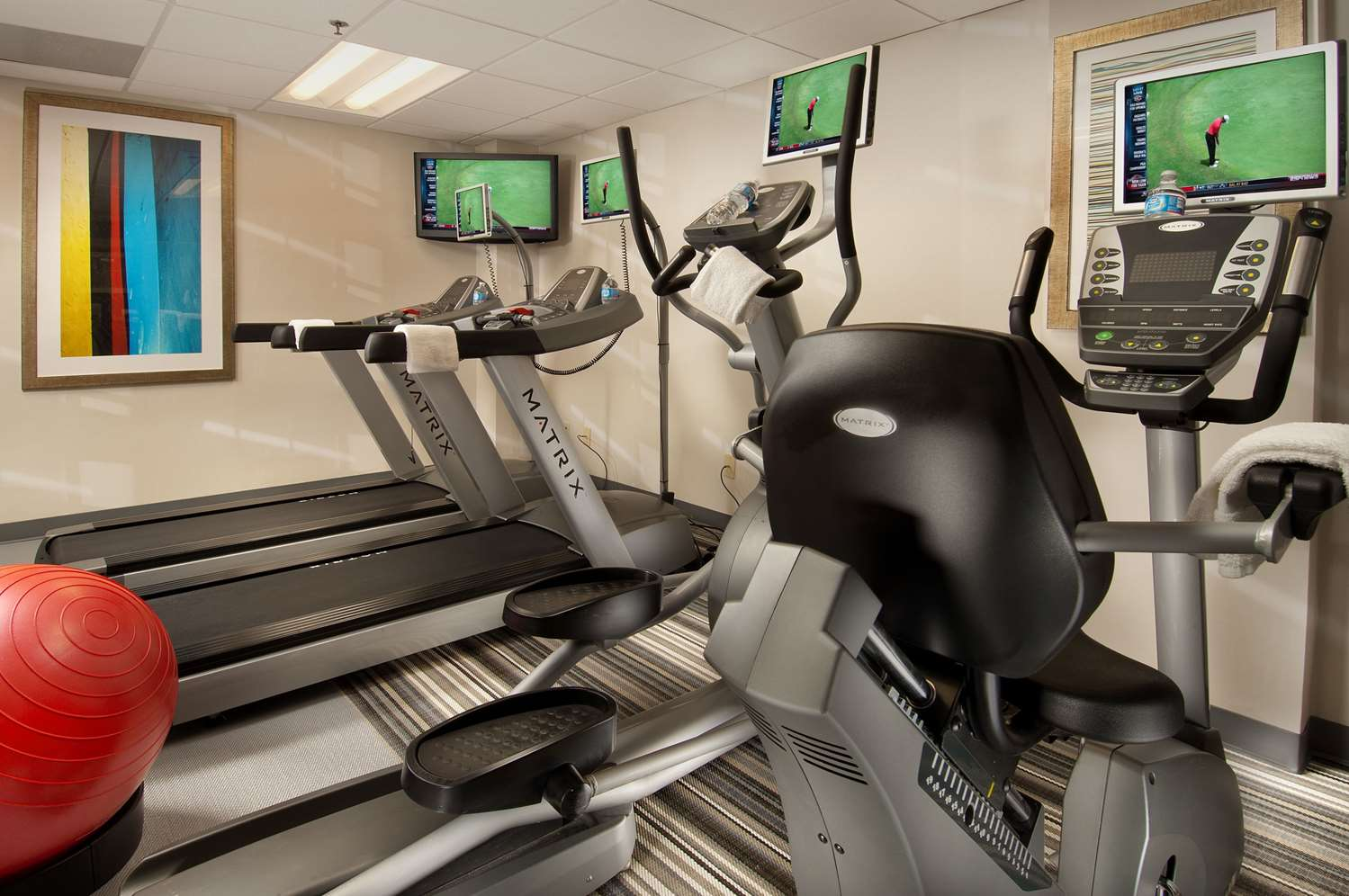 Fitness/ Exercise Room - Comfort Inn Downtown Convention Center DC