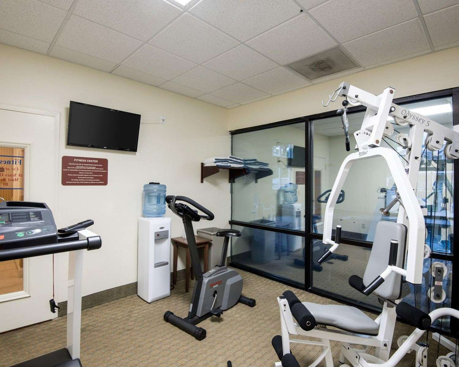 Fitness/ Exercise Room - Quality Inn & Suites Rehoboth Beach