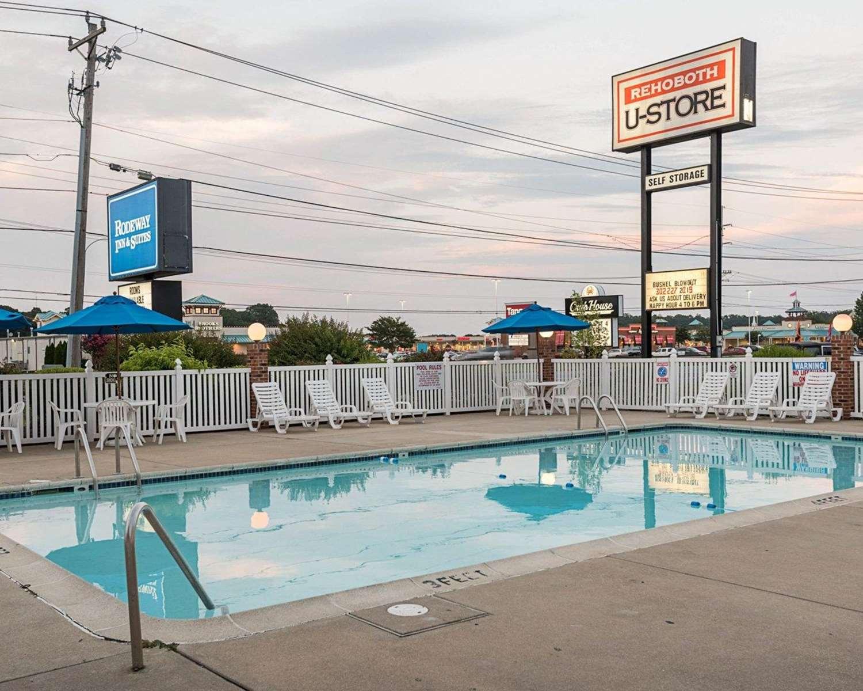 Pool - Rodeway Inn & Suites Rehoboth Beach