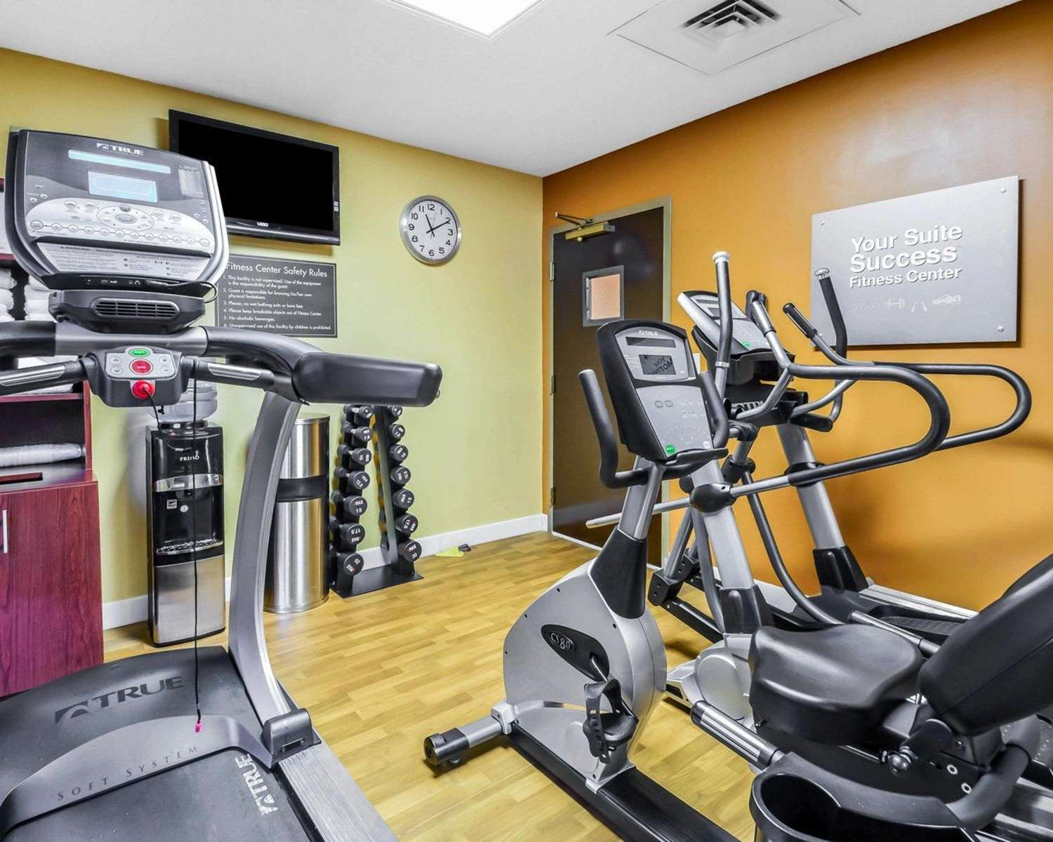 Fitness/ Exercise Room - Comfort Suites Southeast Tampa