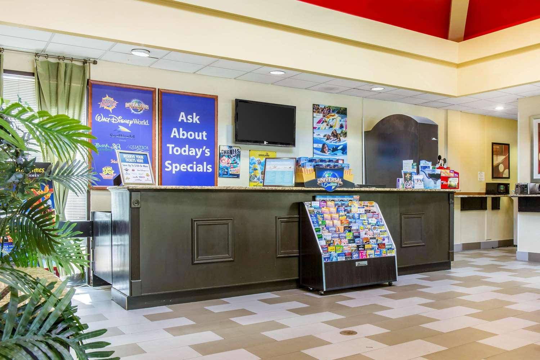 Lobby - Quality Suites Universal South Orlando