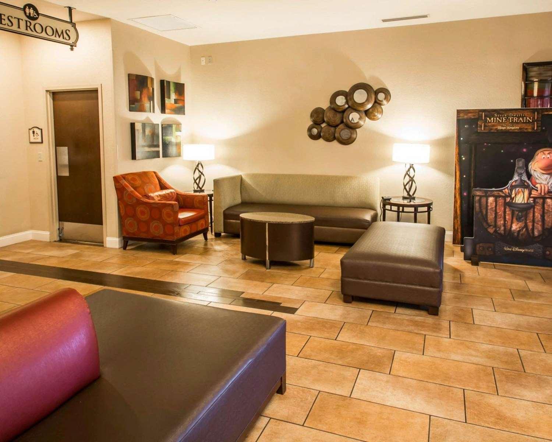 Lobby - Clarion Inn Lake Buena Vista