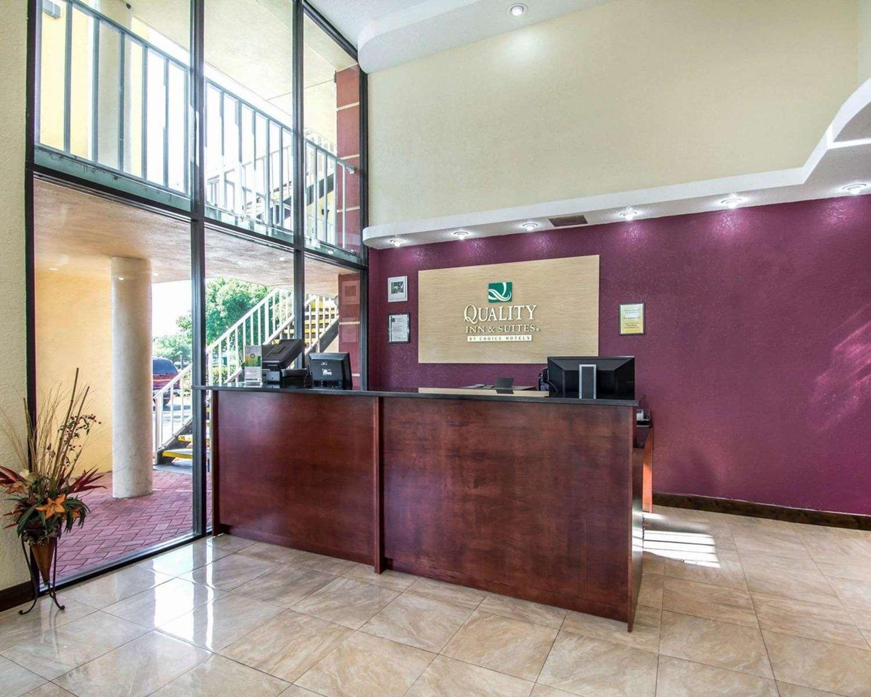 Lobby - Quality Inn & Suites Kenwood St Petersburg
