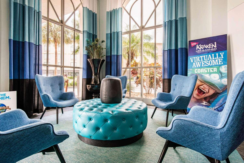 Lobby - Quality Inn & Suites at Universal Studios Orlando