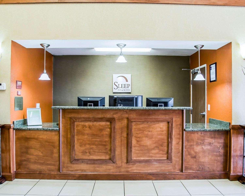 Lobby - Sleep Inn & Suites Lakeland