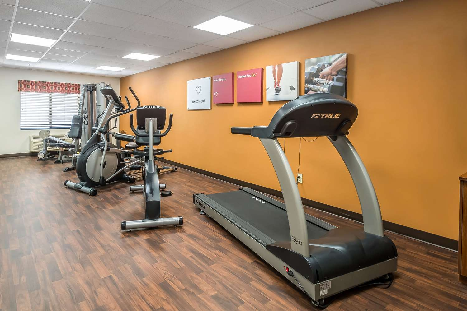 Fitness/ Exercise Room - Comfort Suites West Jacksonville