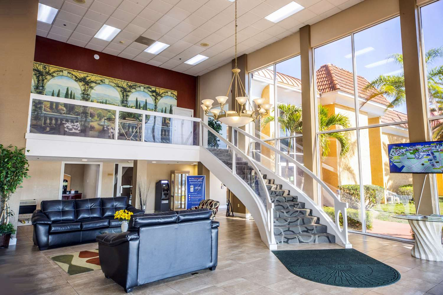 Lobby - Quality Inn & Suites Conference Center New Port Richey