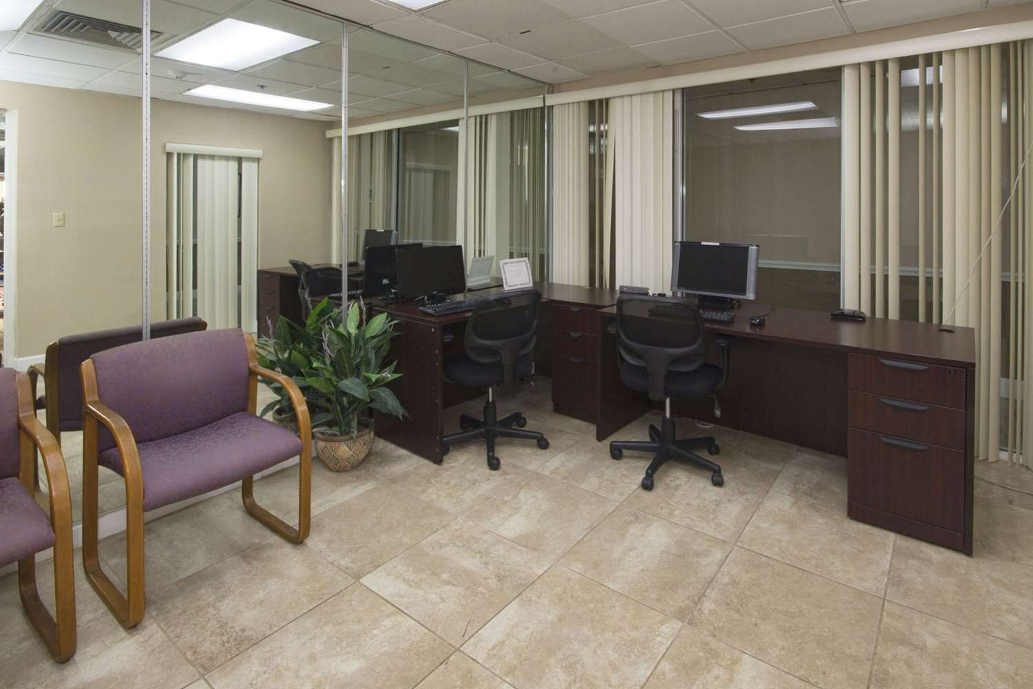 Conference Area - Quality Inn & Suites Conference Center New Port Richey