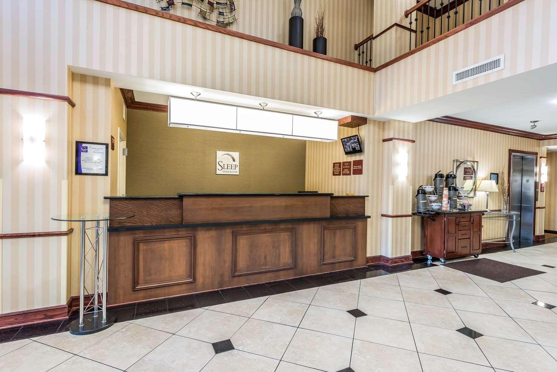 Lobby - Sleep Inn & Suites Gainesville
